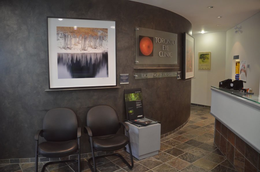 Toronto Eye Clinic Lobby
